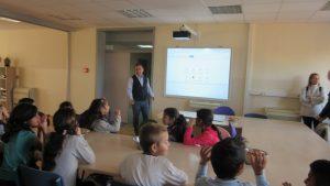 Donacija tvrtke Marodi i KTC-a - prezentacija ravnatelja