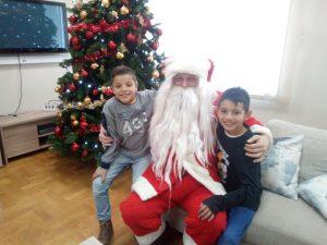 Korisnici u krilu Djeda Božićnjaka