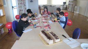 Valentinovo - korisnici jedu kolač