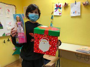 Korisnica s poklonima - božićna akcija Kuflanda