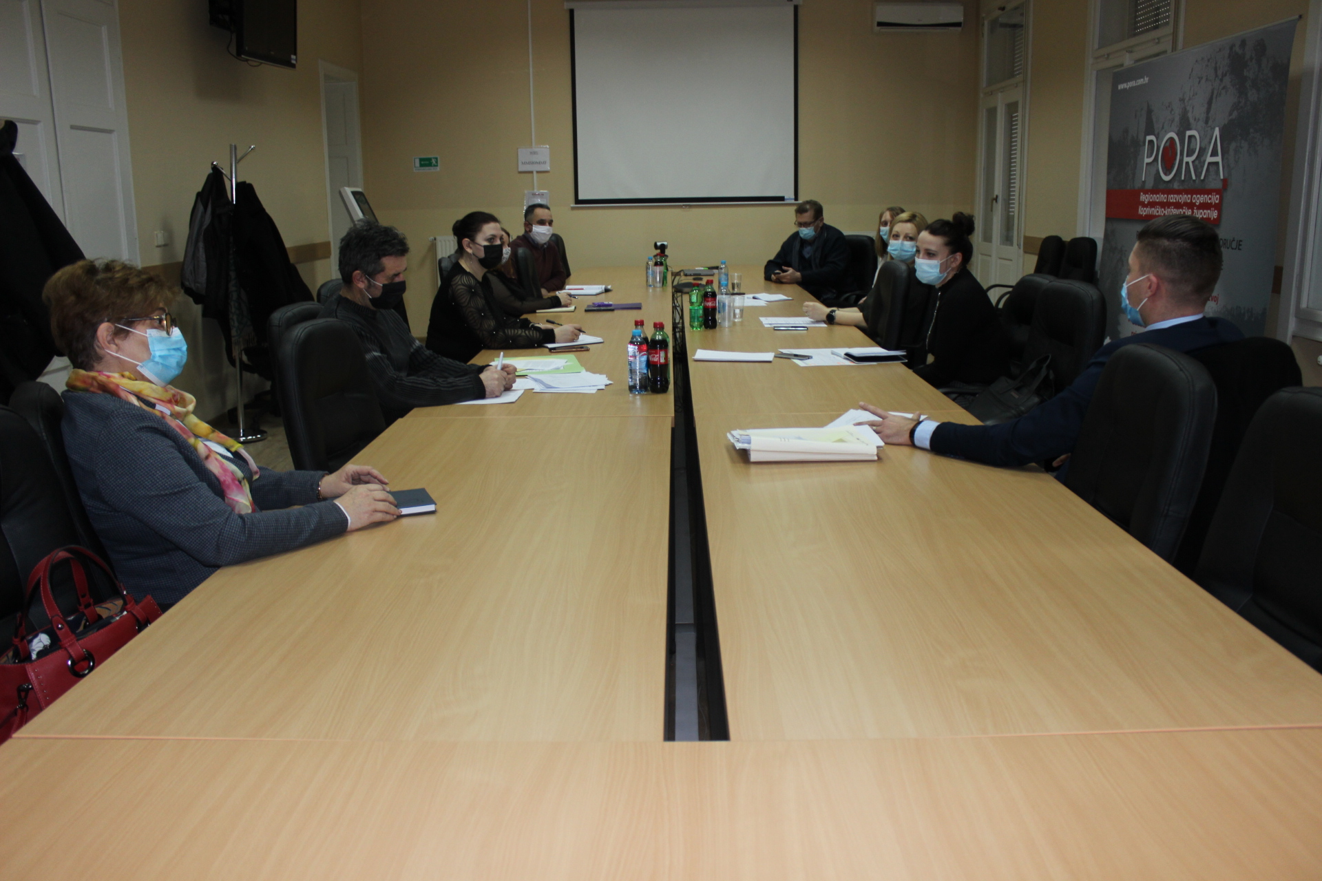 """Sastanak projektnog tima i partnera u okviru provedbe projekta """"Uspostava infrastrukture za pružanje socijalnih usluga Centra za socijalnu skrb Đurđevac"""""""