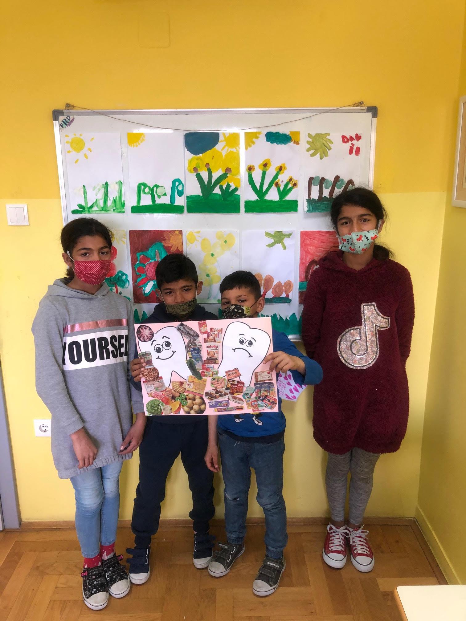 Radionica Svjetski dan oralnog zdravlja - korisnici predstavljaju plakat (2)