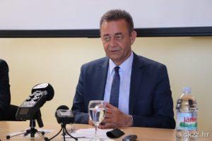 """Konferencija projekta """"Uspostava infrastrukture za pružanje socijalnih usluga Centra za socijalnu skrb Đurđevac"""" - župan Koprivničko-križevačke županije"""