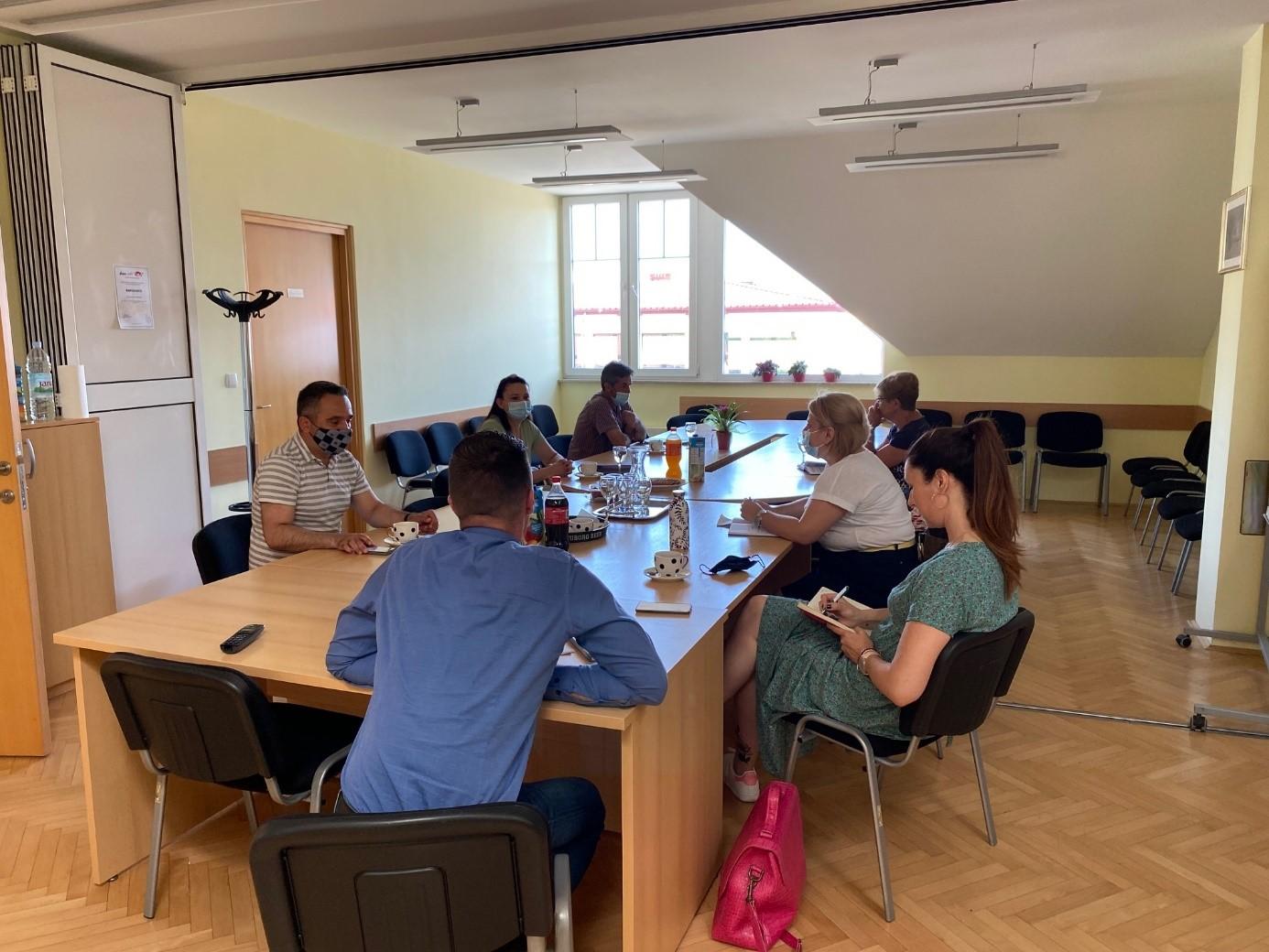 Sastanak projektnog tima i partnera